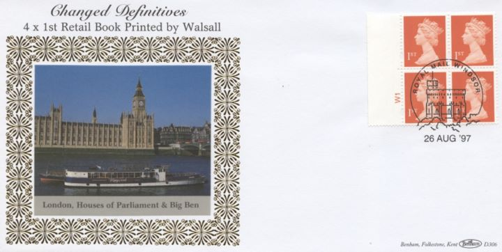 Window: Elliptical Perforations: 4 x 1st , Houses of Parliament