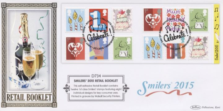 Self Adhesive: Smilers Refresh: 12 x 1st, Champagne