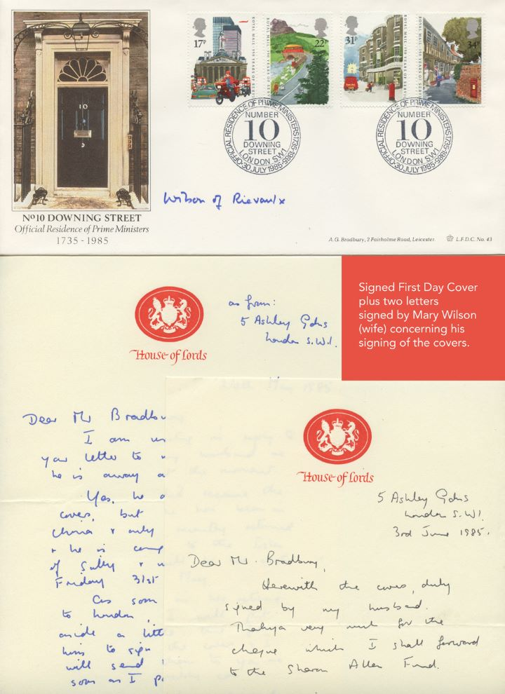 The Royal Mail, Signed by Harold Wilson