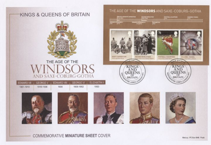 Windsors, Miniature Sheet