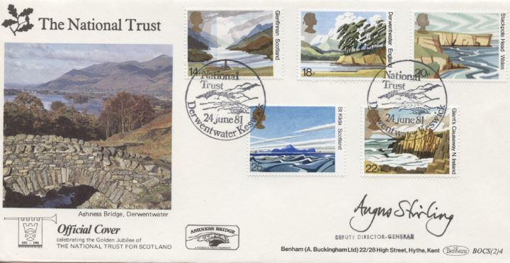 National Trusts, Angus Stirling Signed