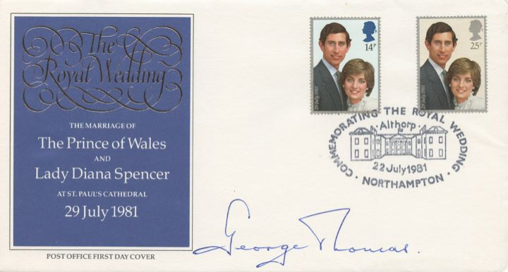 Royal Wedding 1981, Signed by the Speaker of the House of Commons