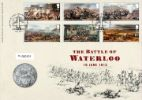Battle of Waterloo Scene from Battle Producer: Royal Mint Series: Royal Mint/Royal Mail joint issue (111)