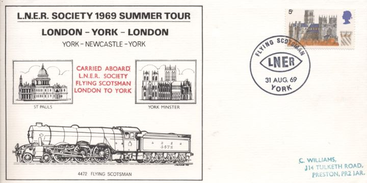 LNER Society Summer Tour, Flying Scotsman