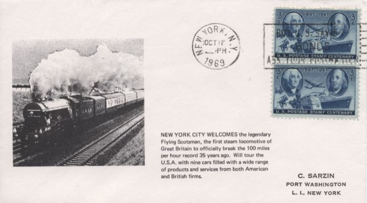 New York City, Flying Scotsman