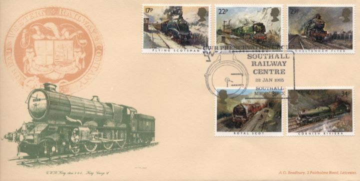 Famous Trains, King George V