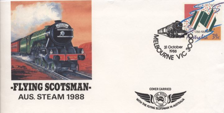 Flying Scotsman, Aus Steam 1988