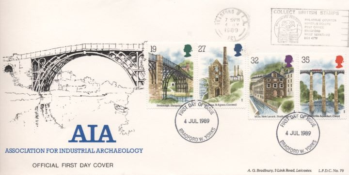 Ind. Archaeology: Stamps, Association for Industrial Archaeology