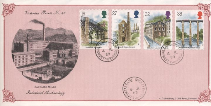 Ind. Archaeology: Stamps, Saltaire Mills