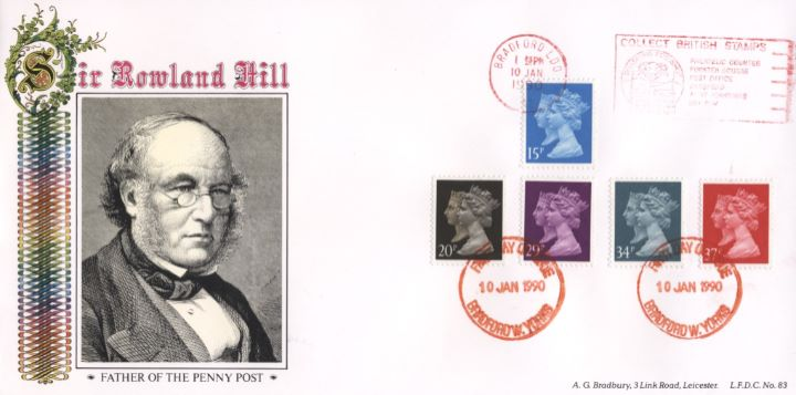 Penny Black Anniversary, Sir Rowland Hill