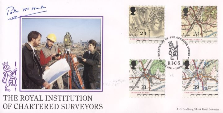 Maps - Ordnance Survey, Institute of Chartered Surveyors