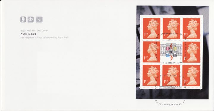 PSB: Profile on Print - Pane 1, Her Majesty's Stamps