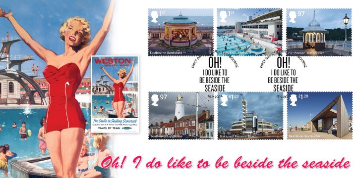 My two covers feature classic railway posters