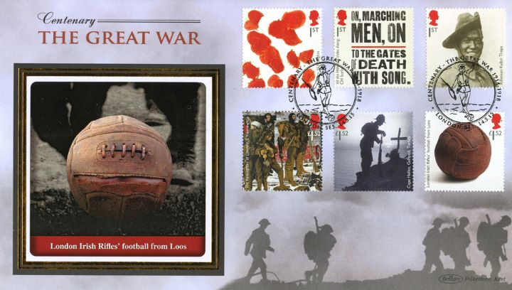 The Great War, Football from Loos