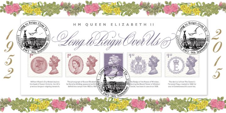 Long to Reign Over Us: Miniature Sheet, National Flowers
