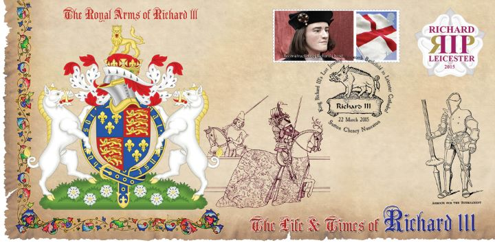 Life & Times of Richard III (4), Royal Arms