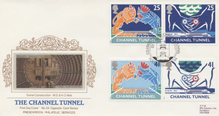 Channel Tunnel, Tunnel Construction