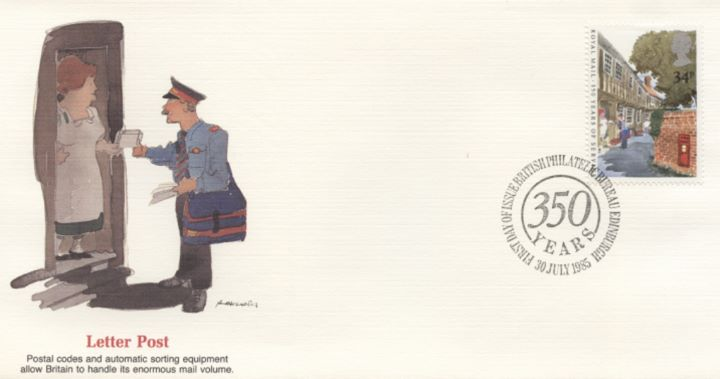 The Royal Mail, Letter Post
