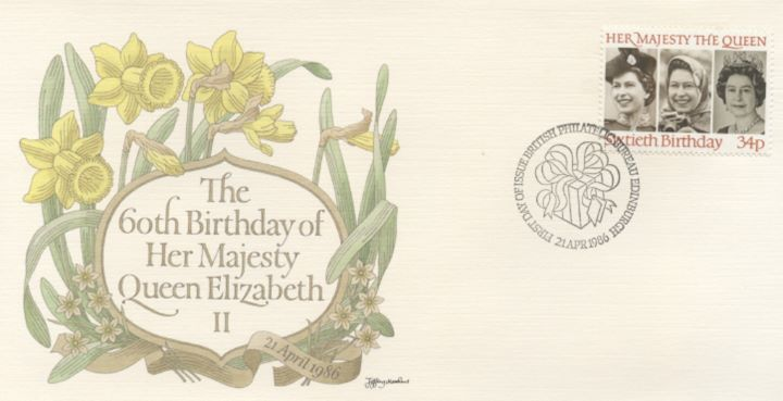 Queen's 60th Birthday, Daffodils