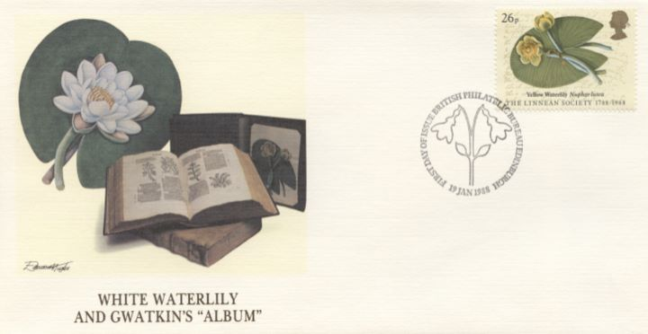 Linnean Society, White Waterlily & Gwatkins Album