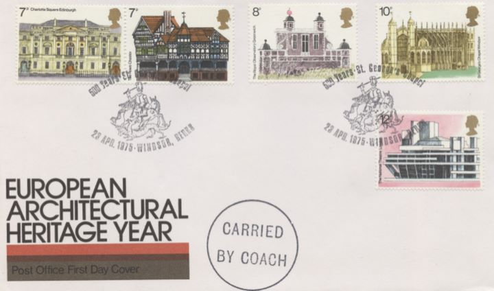 European Architectural Heritage Year, Special Handstamps