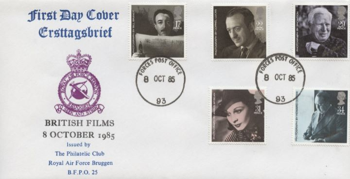 British Film Year, RAF Bruggen Crest