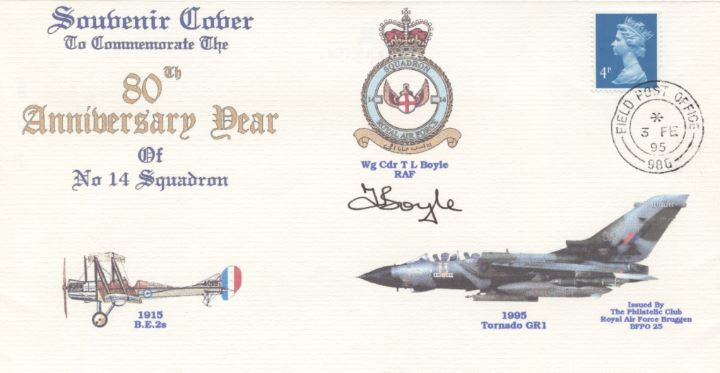 80th Anniversary, No 14 Squadron