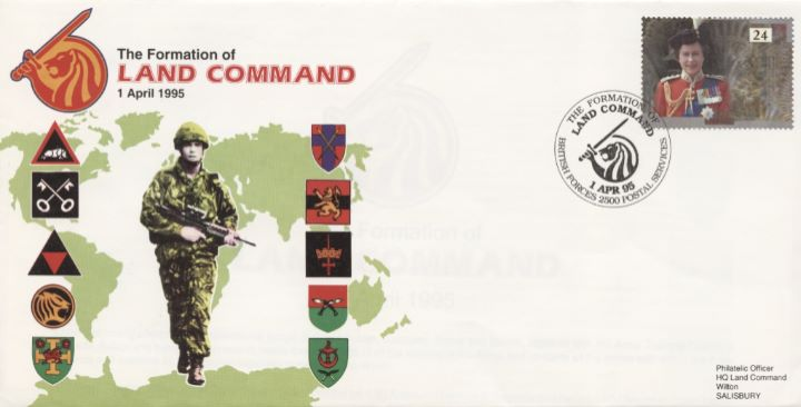 Formation of, Land Command
