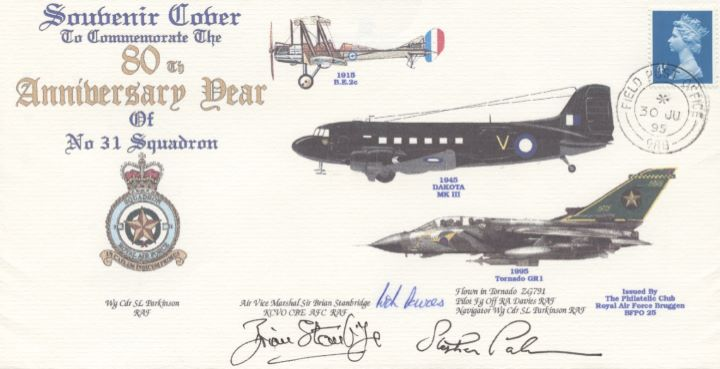 80th Anniversary, No 31 Squadron