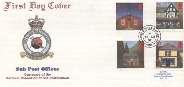 Sub-Post Offices, RAF Bruggen Crest