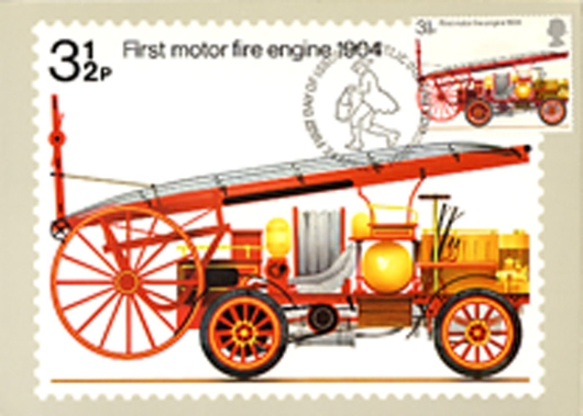 Fire Engines PHQ Card