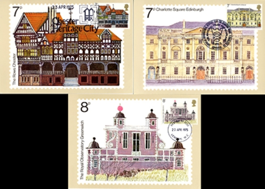 European Architectural Heritage Year PHQ Card