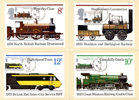 Stockton & Darlington Railway PHQ Card