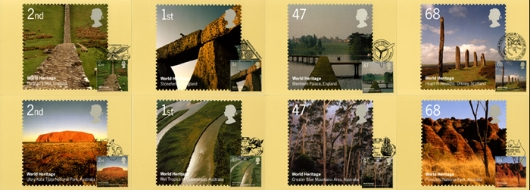 World Heritage Sites PHQ Card