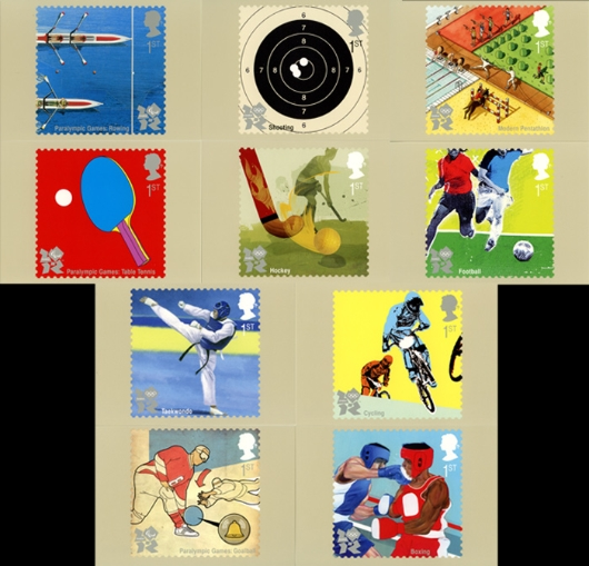 Olympic Games: Series No.2 PHQ Card
