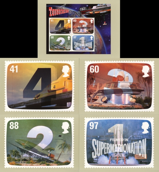 Gerry Anderson: Miniature Sheet PHQ Card