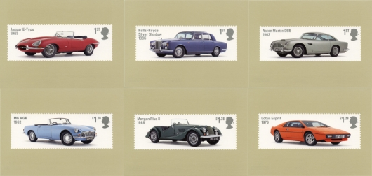 British Auto Legends PHQ Card