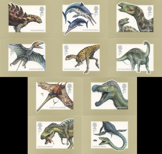 Dinosaurs PHQ Card