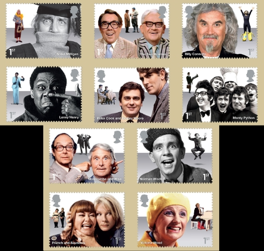 Comedy Greats PHQ Card