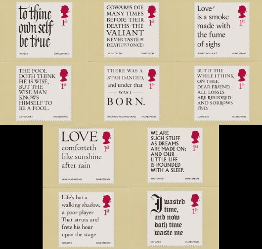 Shakespeare PHQ Card