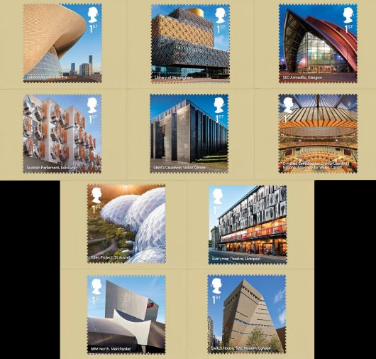 Landmark Buildings PHQ Card
