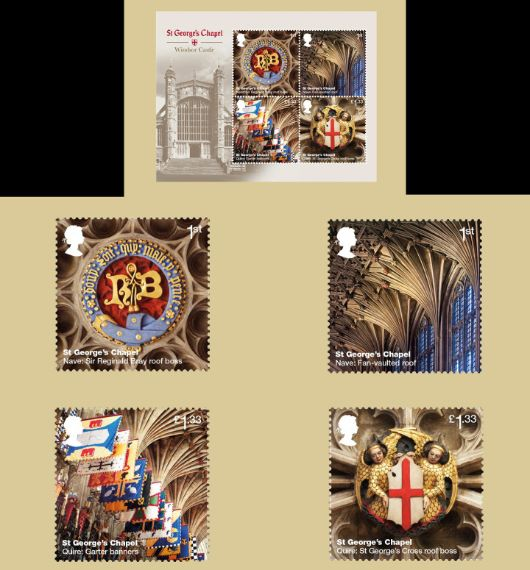 Windsor Castle: Miniature Sheet PHQ Card