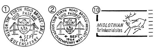 Forth Road Bridge Postmarks