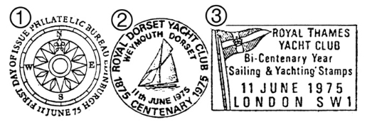 Sailing Postmarks