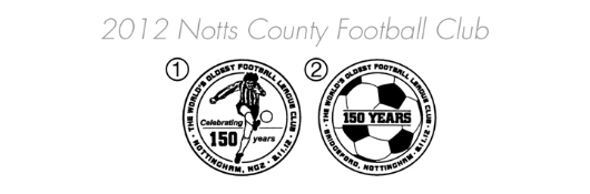 Notts County Football Club [Commemorative Sheet] Postmarks