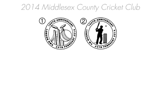 Middlesex CCC [Commemorative Sheet] Postmarks
