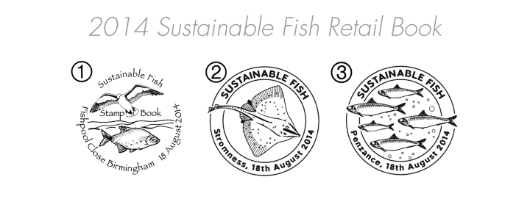Self Adhesive: Sustainable Fish Postmarks