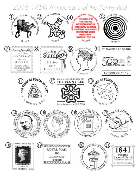 PSB: 500 Years of Royal Mail Postmarks
