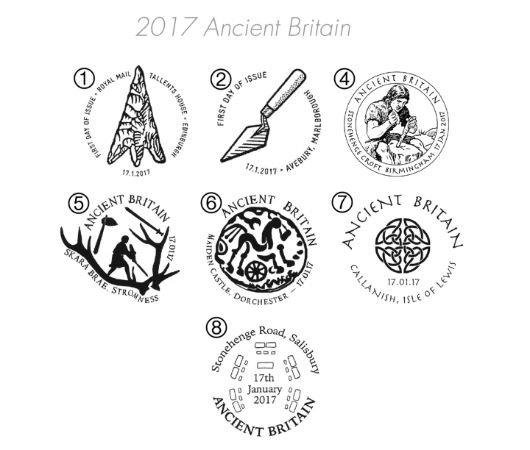 Ancient Britain Postmarks
