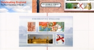 Celebrating England: Miniature Sheet